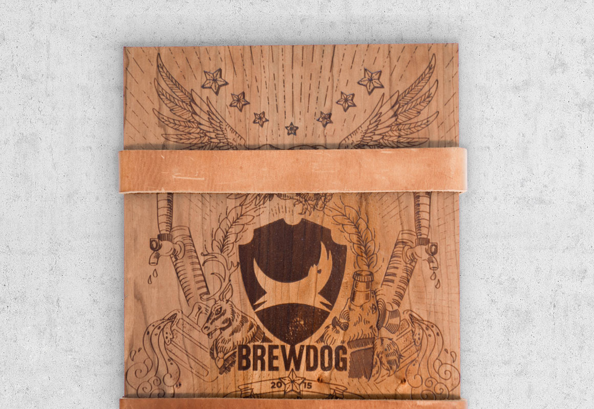The Brewdog pitch crate