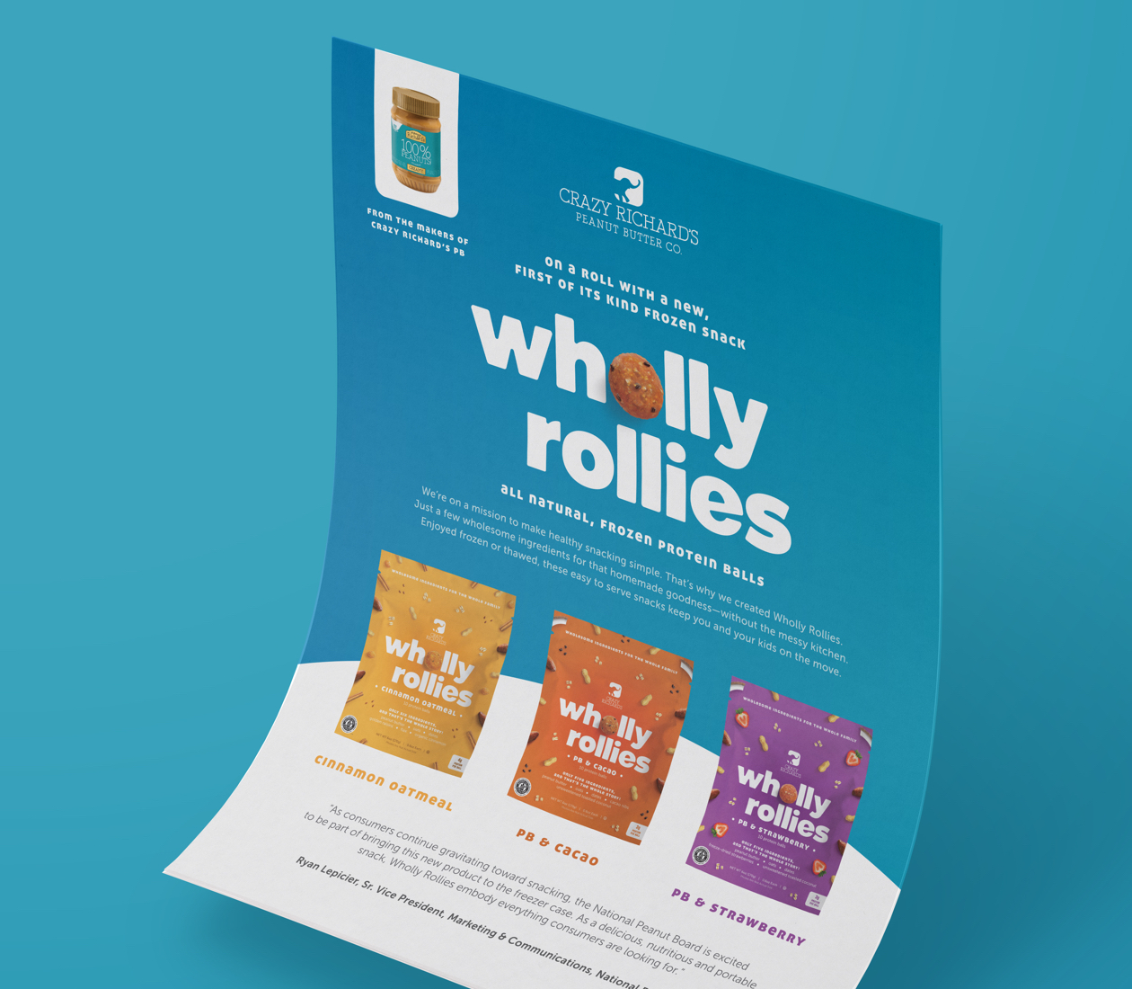 Wholly Rollies sales sheet